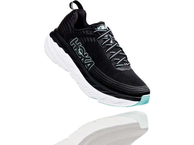 Hoka One One Bondi 6 Running Shoes Dam black/aqua sky